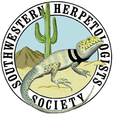 Southwestern Herpetologists Society logo for Stripe